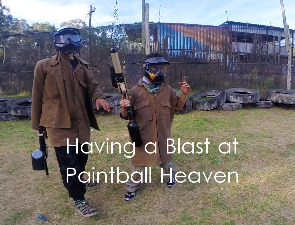 Having a Blast at Paintball Heaven