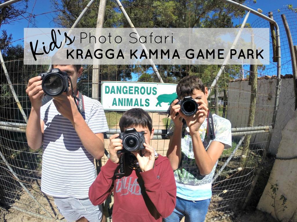 Kids' Photo Safari at Kragga Kamma Game Park in Port Elizabeth