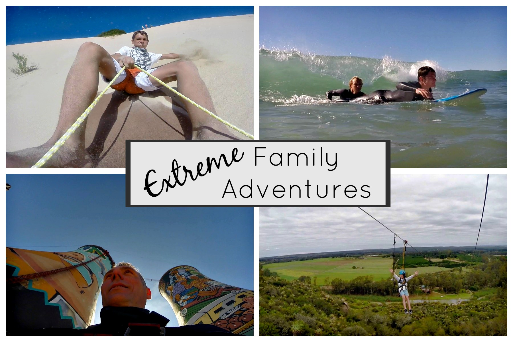 "Extreme Family Adventures, ""For the Sake of the Blog"""