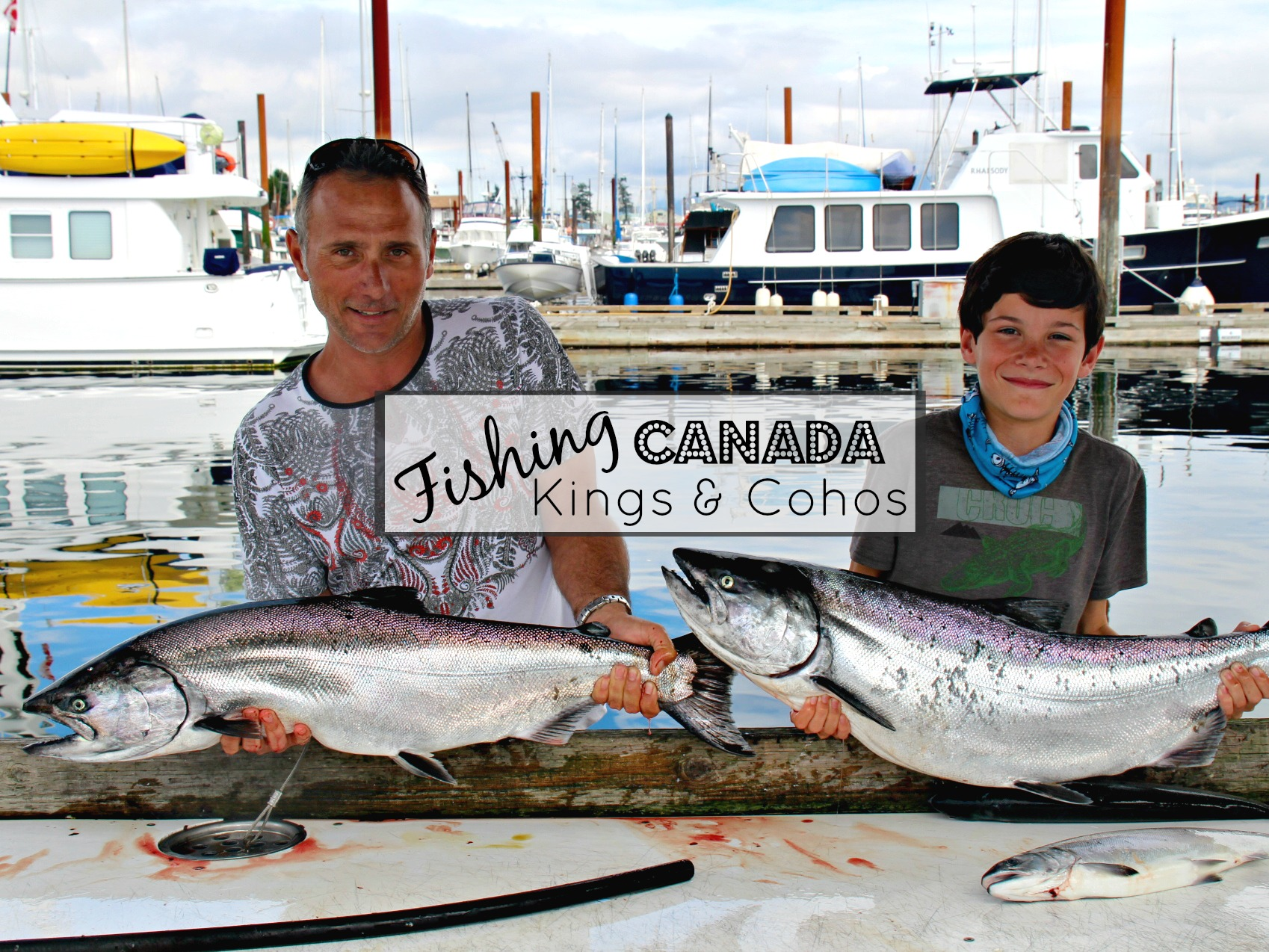 Canada Diary Part 16 – Kings and Cohos in Campbell River