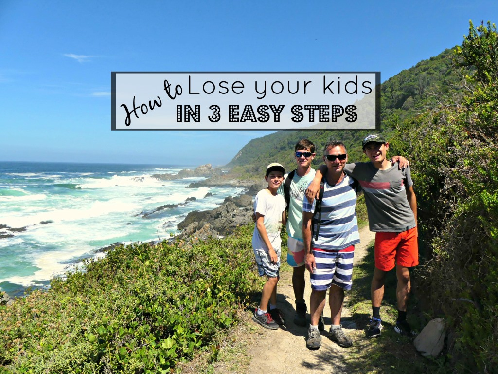 How to Lose your Kids on the Otter Trail in 3 Easy Steps
